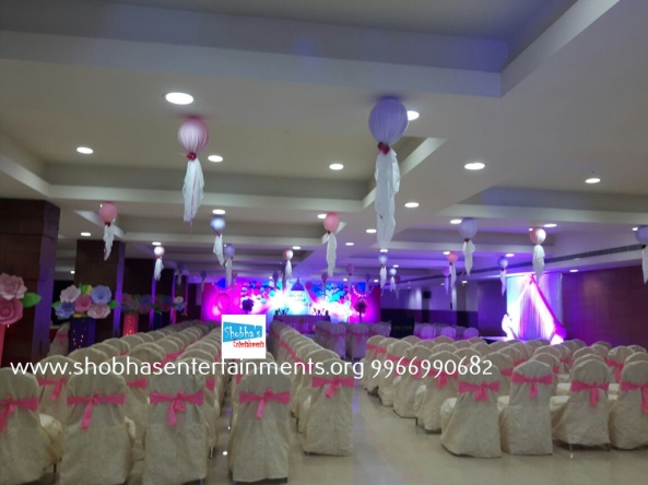 Paper craft flower birthday party decorators in Hyderabad (9)