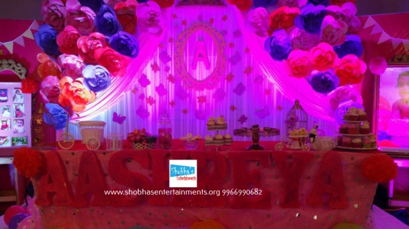 Birthday Decorations paper flower fancy crown birthday decorations in hyderabad