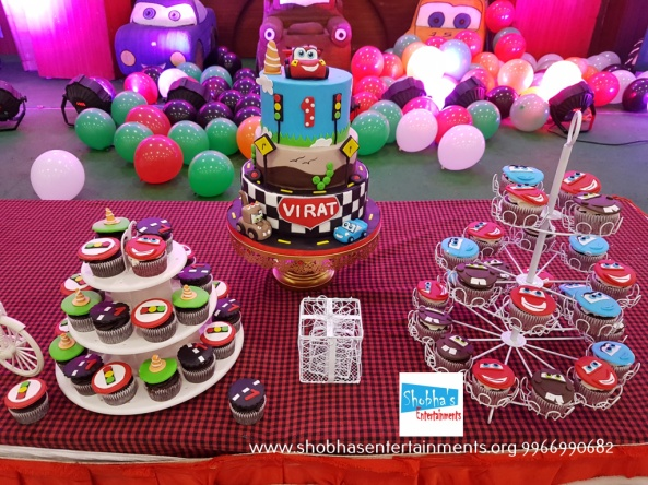 Cars Theme Birthday Party Decorators In Hyderabad 10