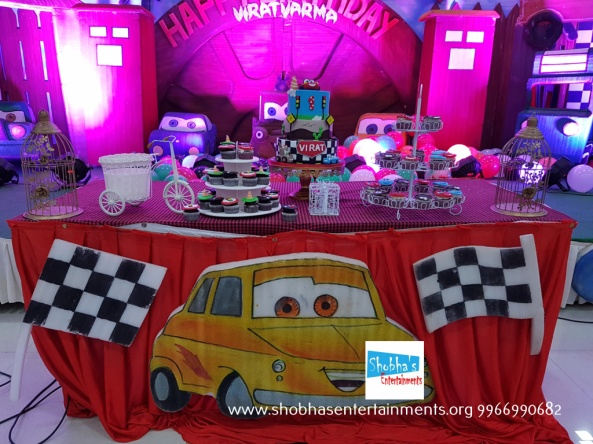 Cars Theme Birthday Party Decorators In Hyderabad 8