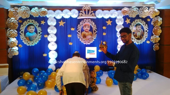 Prince Theme Birthday Decorations In Hyderabad Shobhas Entertainments