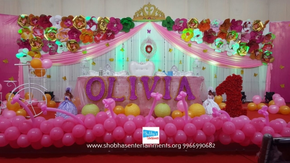 Shobhas Entertainments Birthday Party Decorators In Hyderabad - Childrens birthday party events