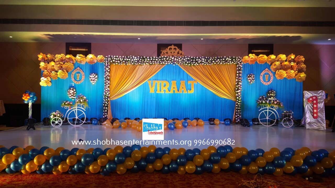 Shobhas Entertainments Birthday party Decorators in Hyderabad
