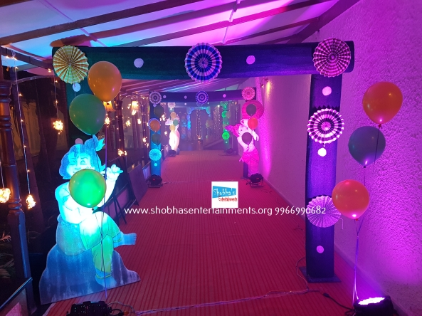 krishna theme birthday decorators in Hyderabad (2)