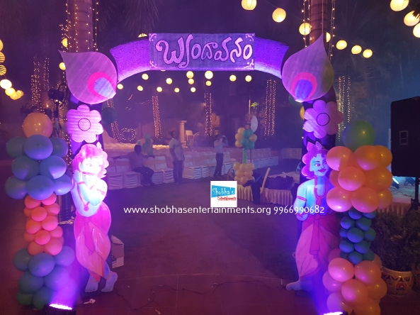 krishna theme birthday decorators in Hyderabad (3)