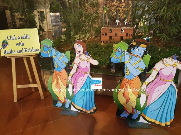 krishna theme birthday decorators in Hyderabad (5)