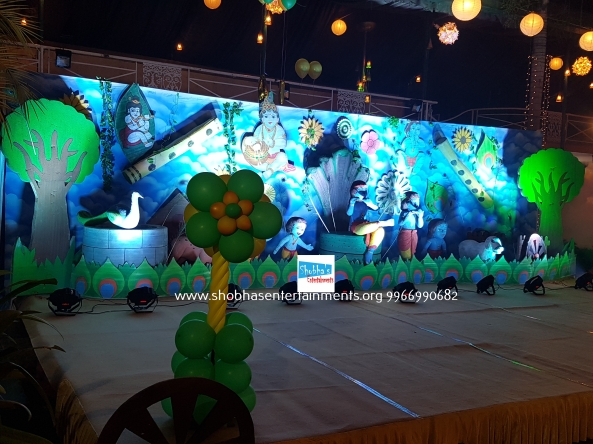 krishna theme birthday decorators in Hyderabad (9)