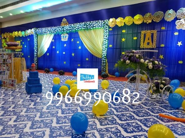 prince theme birthday pargty decorators in Hyderabad (20)