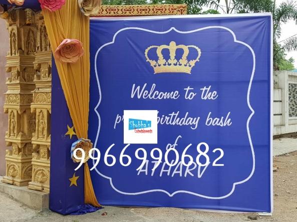 prince theme birthday pargty decorators in Hyderabad (22)