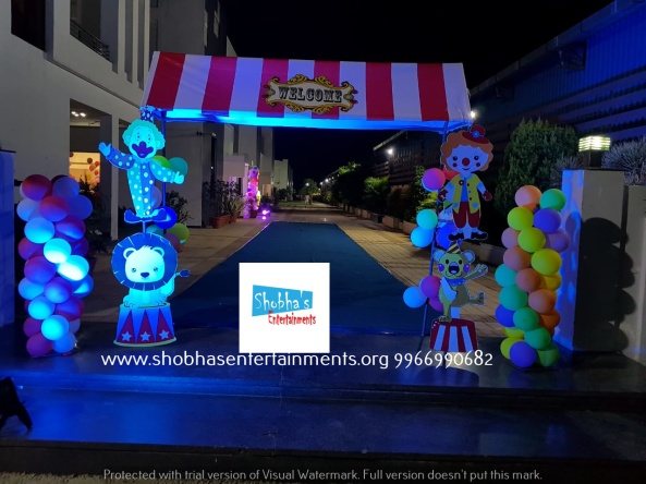 carnival theme birthday party decoartions in hyderabad (2)