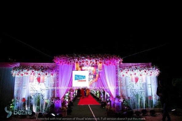 Wedding Flower Stage Decorators In Hyderabad Shobhas Entertainments